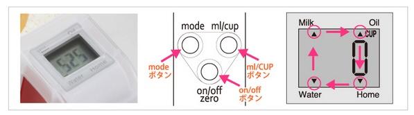 數位計量杯VMC-10-模式