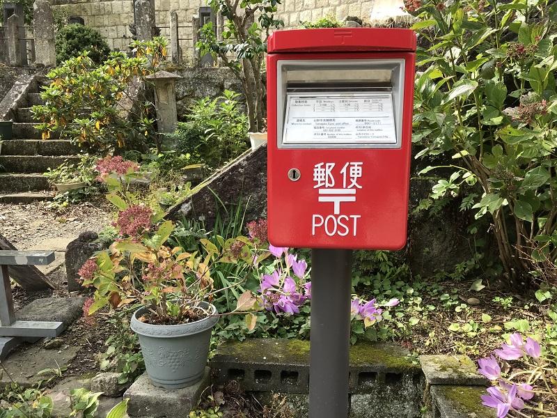 毎日山寺に上る郵便局員