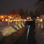 【山形県米沢市】「上杉雪灯篭まつり」に行って白銀の世界に輝くオレンジの灯りを堪能しよう!山形グルメも味わえます