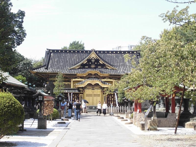 上野東照宮境内