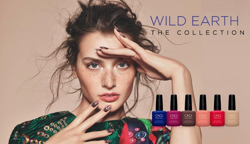 CND™ WILD EARTH Collection – SHELLAC™ & VINYLUX™