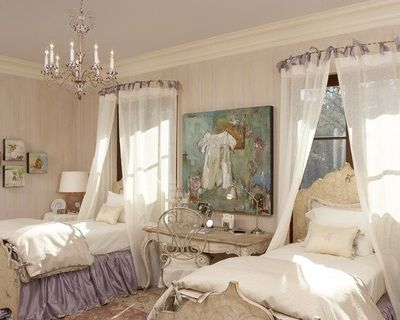 use round shower curtain rod for canopy over bed daughters baby time juxtapost