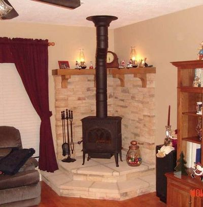 Image Result For How To Install A Pellet Stove In A Mobile Home