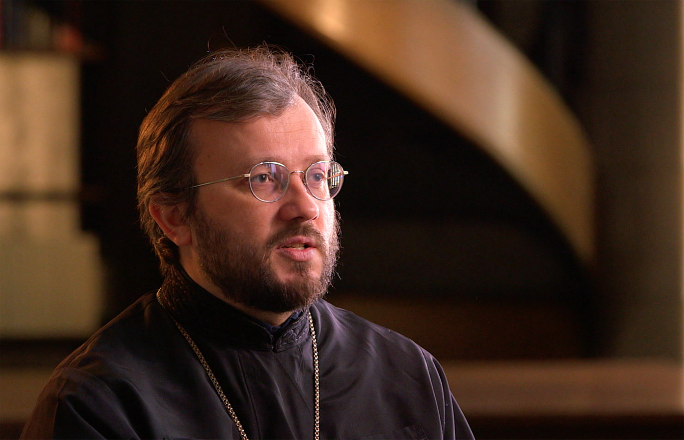Archimandrite Cyril Hovorun, interviewee on John Paul 2: Liberating a Continent, the fall of Communism.
