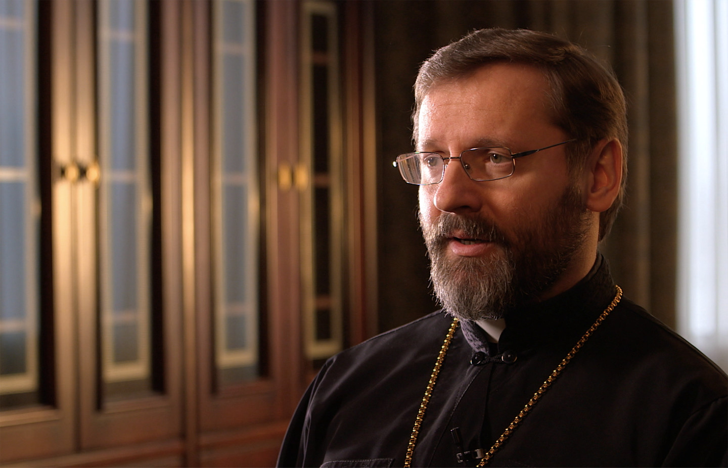 His Beatitude, Sviatoslav Shevchuk, interviewee on John Paul 2: Liberating a Continent, the Fall of Communism.