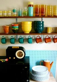 turquoise pinboard