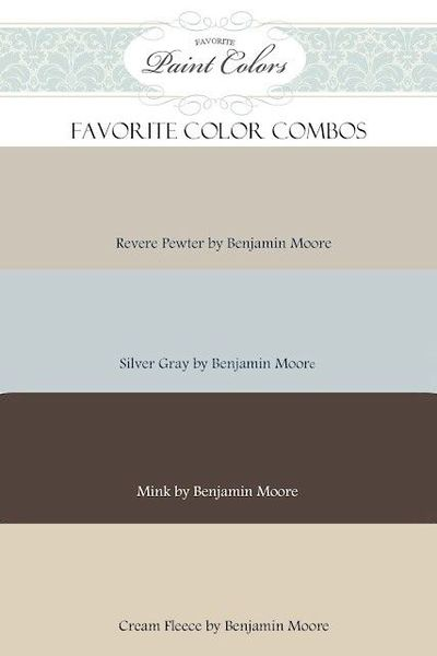 revere pewter color combo