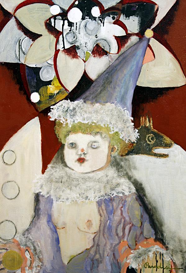 """""""Tarot"""" Julianna Paradisi oil on canvas 2008"""