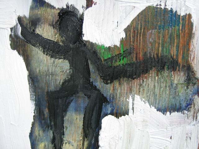 oil on wood 2008 artist: J.Paradisi
