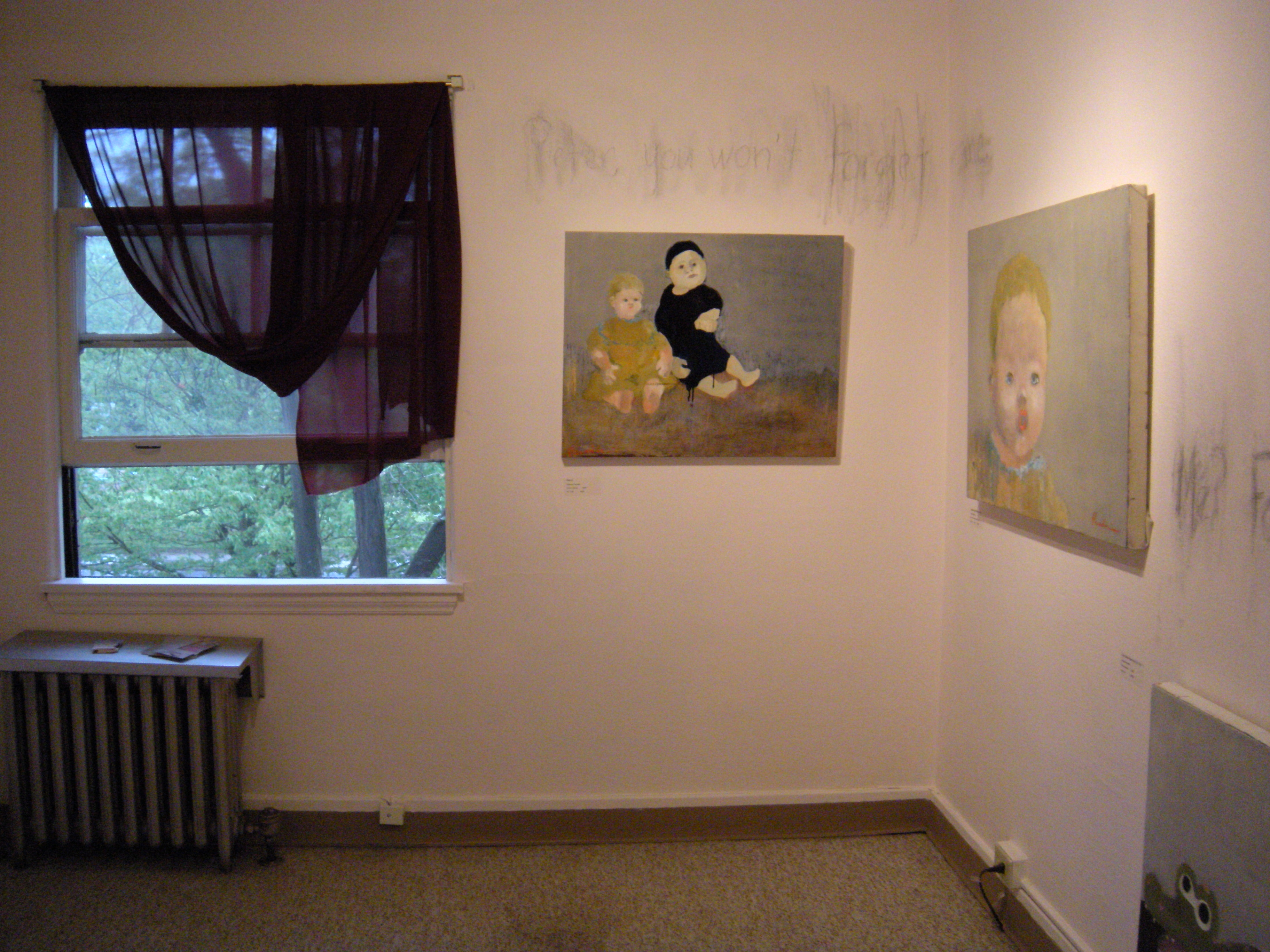 The Darling's Nursery. Paintings & Installation by JParadisi 2009