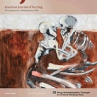 Love You to Death is the October Cover of The American Journal of Nursing