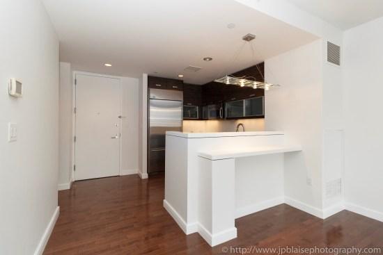 Apartment Photographer New York photoshoot one bedroom condo unit Midtown East ny nyc kitchen