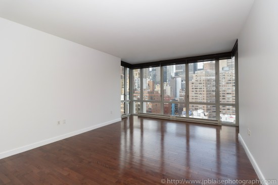 Apartment Photographer New York photoshoot one bedroom condo unit Midtown East ny nyc living room