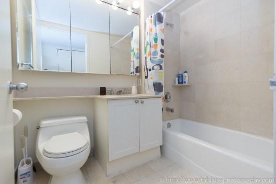 Apartment photographer New York City Two Bedroom Midtown East NY Bathroom