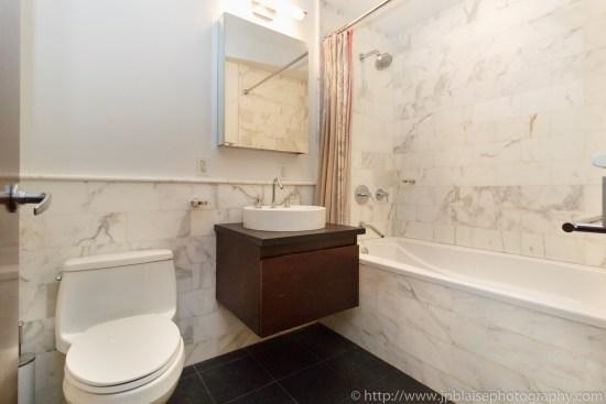 Apartment photographer new york ny one bedroom midtown west bathroom