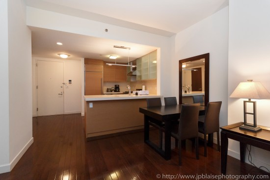 Apartment photographer new york ny one bedroom midtown west dining room