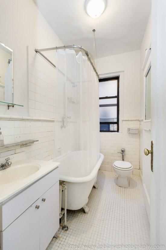 apartment photographer one bedroom washington heights manhattan bathroom