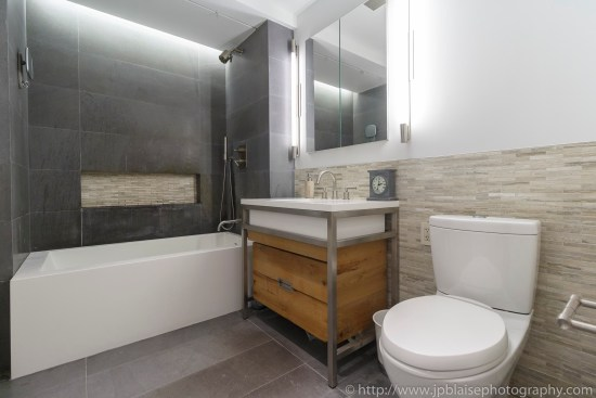 Apartment photographer real estate interior condo one bedroom east village bathroom