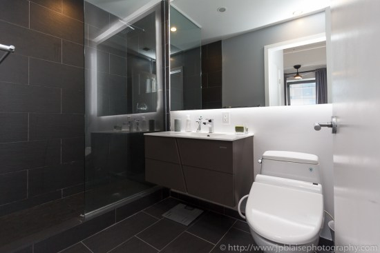 Real estate photographer took a picture of this bathroom in Brooklyn new york city