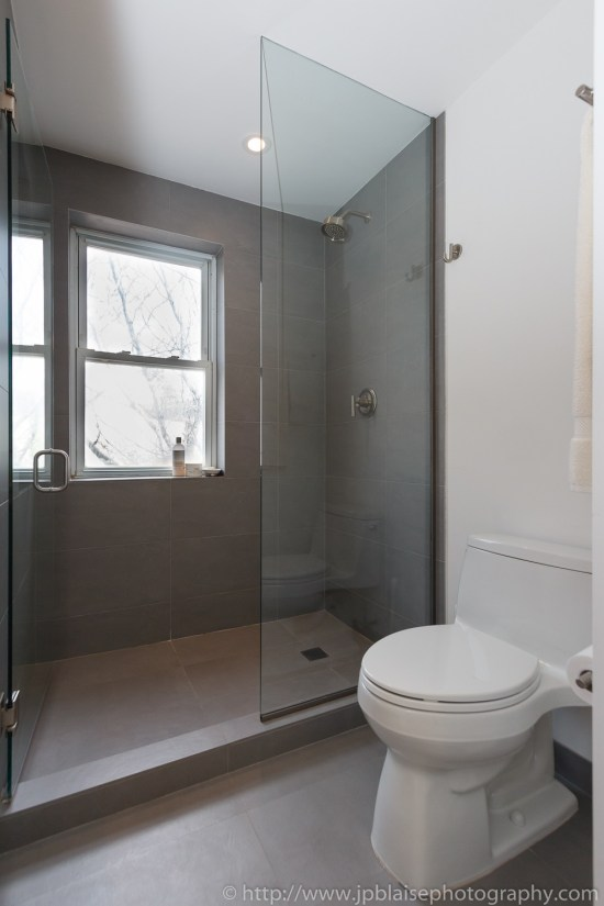Bathroom of NY Real estate photographer two bedroom apartment in west village manhattan