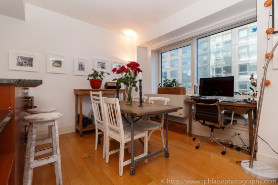Brooklyn nyc apartment photographer interior real estate ny new york photography dining area