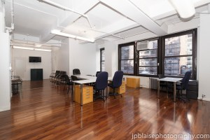 Commercial Real Estate Photographer New York Front Desk NYC photography