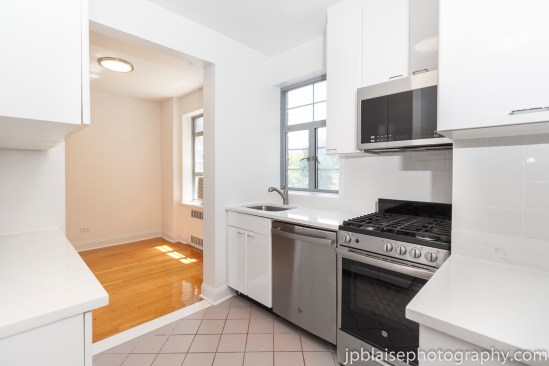 Forest hills real estate photographer interior apartment queens kitchen