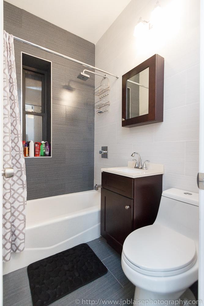 Latest Real Estate photographer photo-shoot: 1 bedroom ... on Apartment Bathroom  id=48838