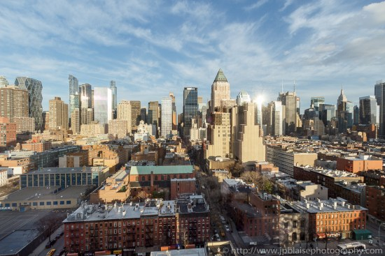 View of Midtown Manhattan New York City apartment Photographer