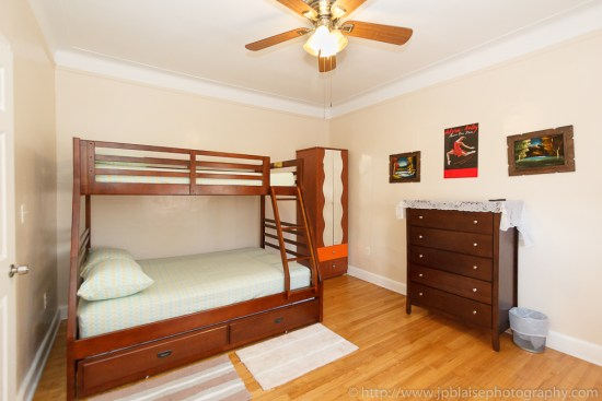 New York Real Estate photographer work: picture of a bedroom of an apartment in East Flatbush, Brooklyn