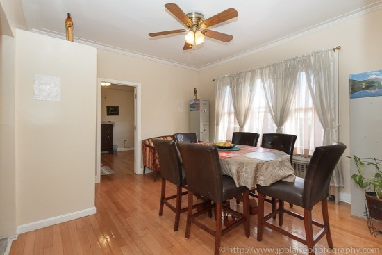 Picture of a table and kitchen of apartment in East Flatbush, Brooklyn, New York City