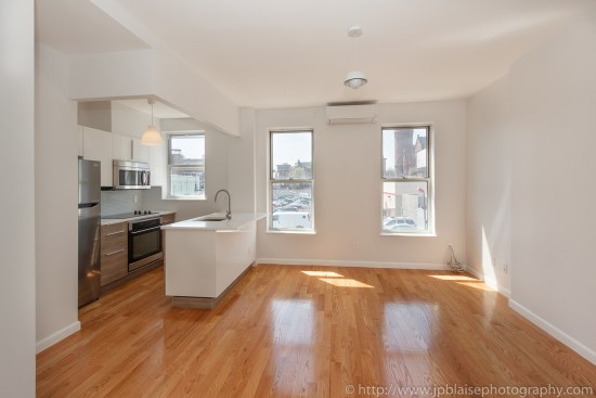 Interior photography new york brooklyn renovated studio