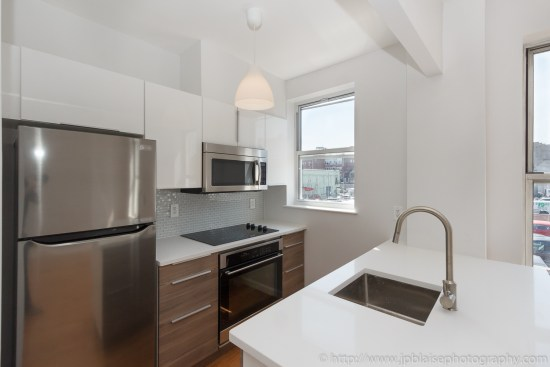 Kitchen Real estate photography new york brooklyn renovated studio