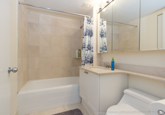 Latest NYC interior photographer work two bedroom two bathroom in Midtown East, Manhattan - picture of bathroom
