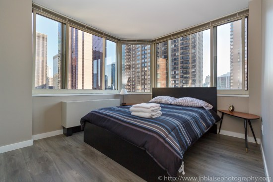 NY Apartement photographer 2 bedroom midtown west bedroom