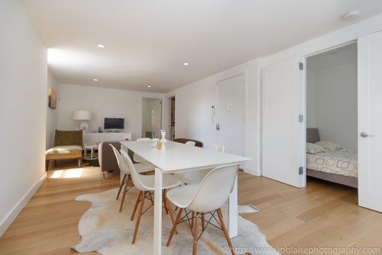 NY interior photographer two bedroom apartment in west village manhattan