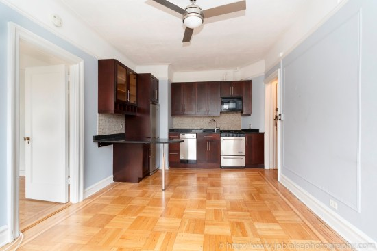 NYC apartment photographer one bedroom coop for sale west village ny real estate photography living