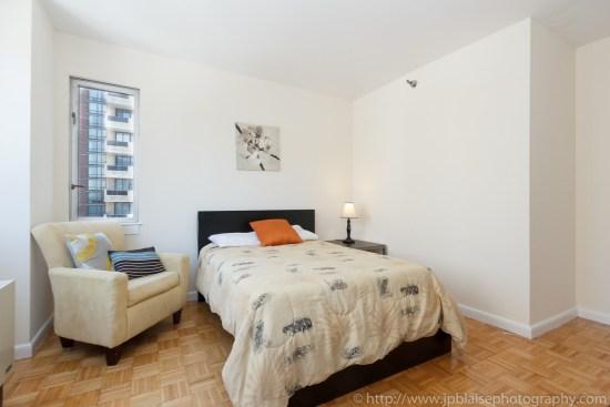 NYC apartment photographer two bedroom midtown bedroom new york