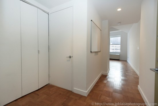 New York Apartment photographer work Studio unit in the Financial District Manhattan entrance