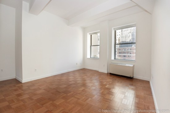 New York Apartment photographer Studio unit in the Financial District Manhattan