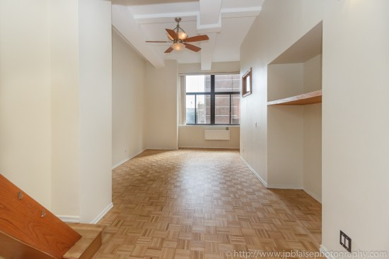 New York City apartment photographer Midtown East One Bedroom unit living room