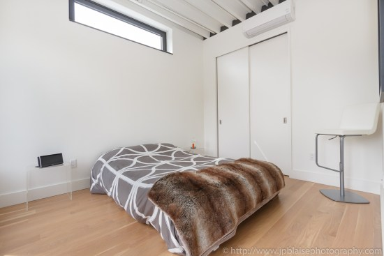New York apartment photographer 3 bedroom unit downtown brooklyn bedroom