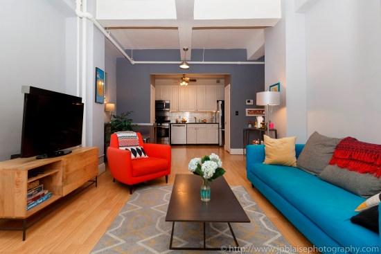 Nyc apartment photographer real estate new york studio loft brooklyn heights living