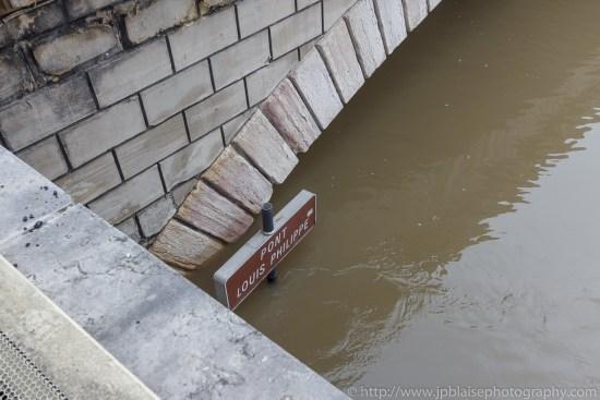 Paris flooding river banks Real estate photography