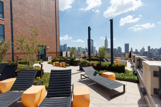 Stunning terrace views from Chelsea, New York City (New York Interior photographer)