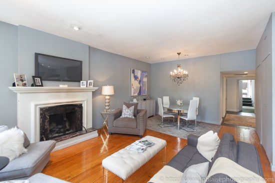 Real estate photography chelsea two bedroom apartment new york city