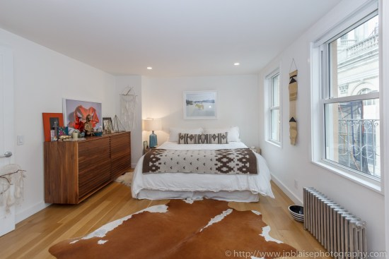 Real estate photography work west village one bedroom apartment bedroom