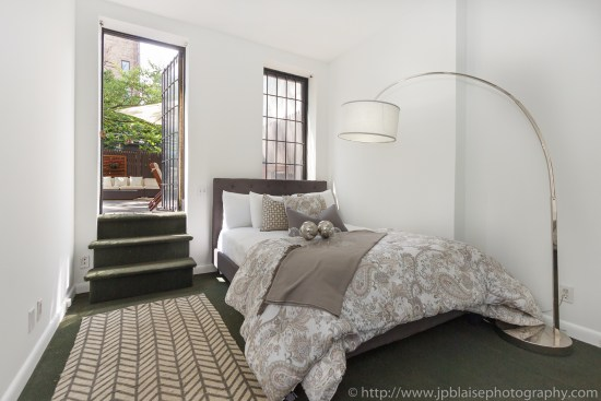 Second bedroom Apartment photography chelsea two bedroom apartment new york city