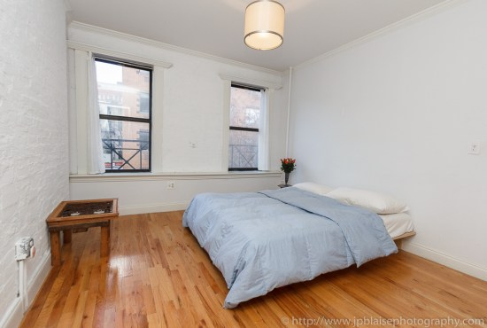 NY Interior Photography of second bedroom in Soho apartment