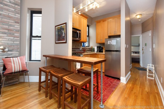 Open Kitchen professional photoshoot, Apartment on the Upper West Side, New York City